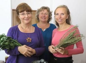 Sanja Lončar, Friedigarda Lingl und Sabina Topolovec im September 2016 in Schwarzenfeld