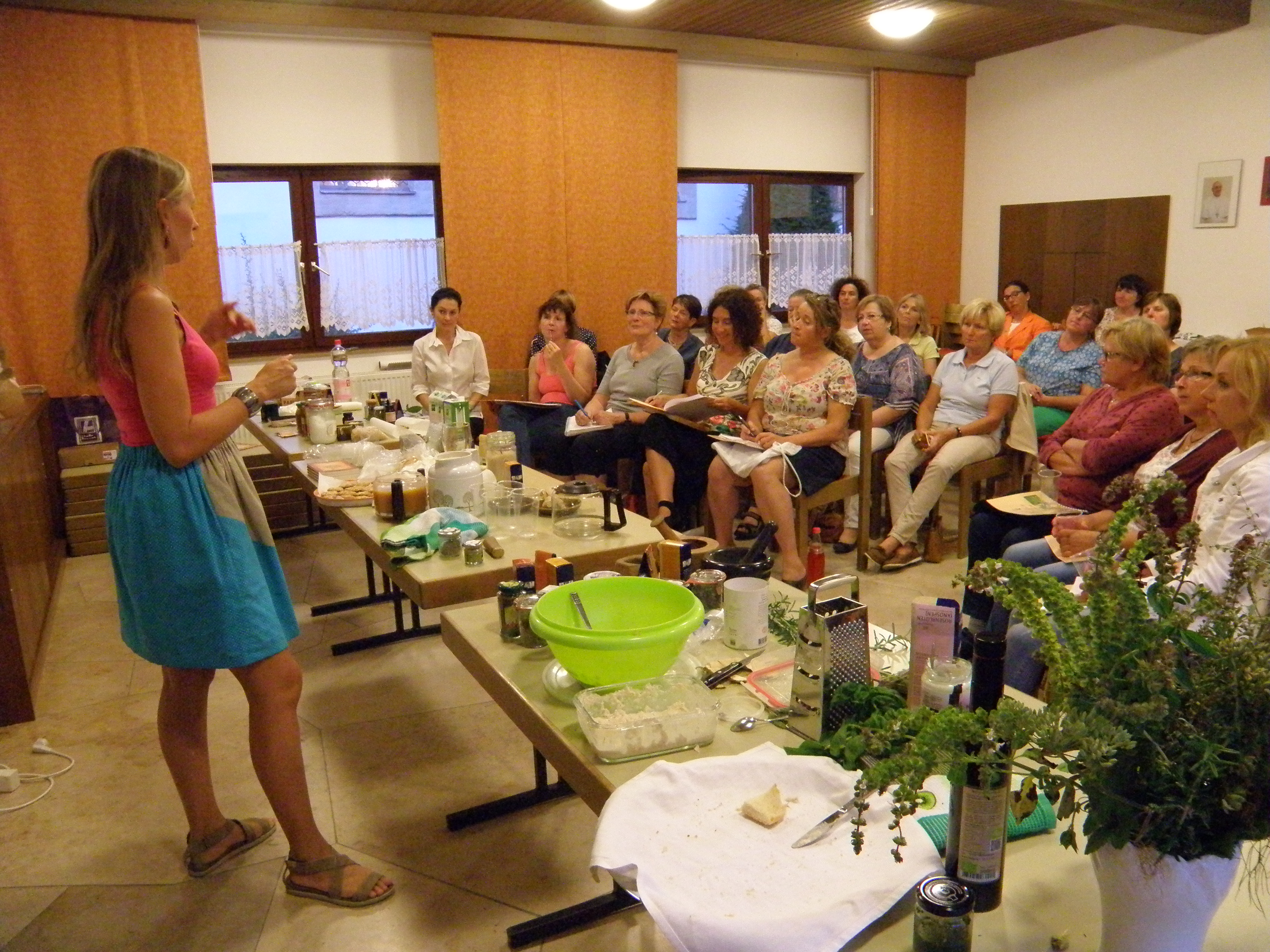 Workshop bei Renate Schuler
