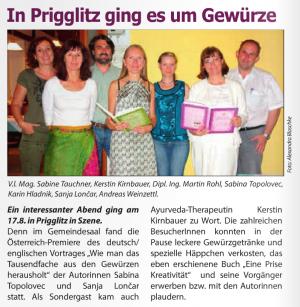 Der Monat September 2015 Vortrag Prigglitz