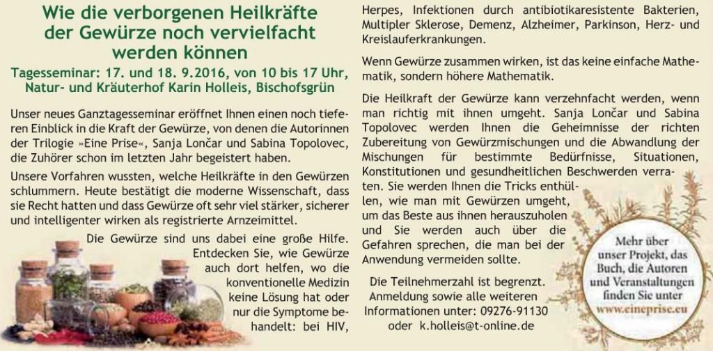 Kulmbacher Land Juli 2016