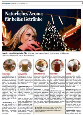 OÖNachrichten Dezember 2015 Getränke