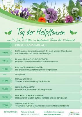 Tag der Heilpflanzen 2016 Programm